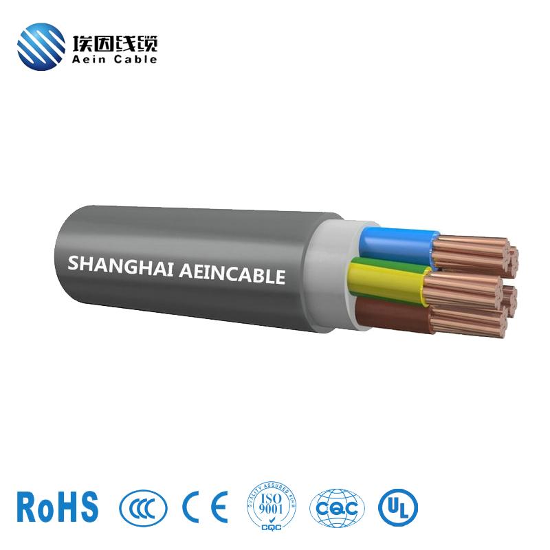 半哑光聚醚型聚氨酯(PUR)电缆