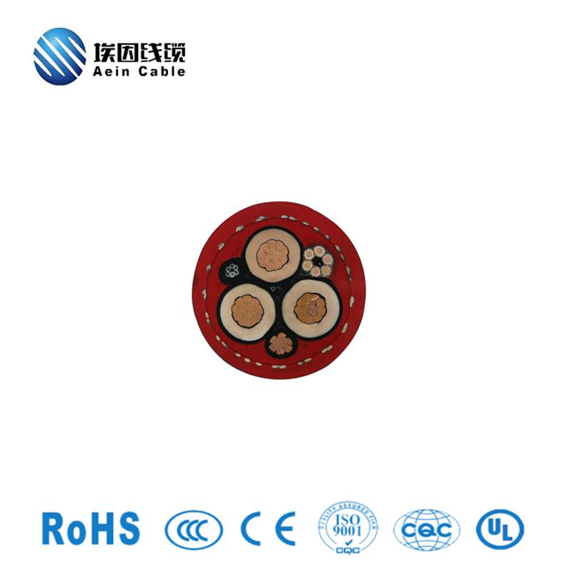 网线复合型卷筒电缆PUR